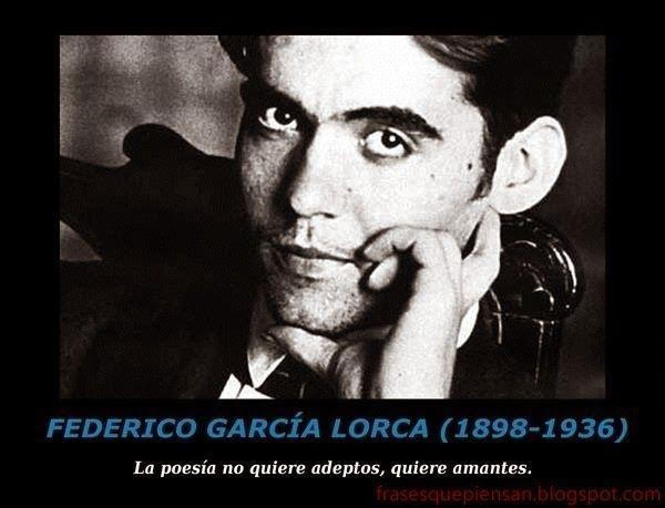Frase Con Foto Federico García Lorca Federico Garcia Lorca García Lorca Federico Garcia