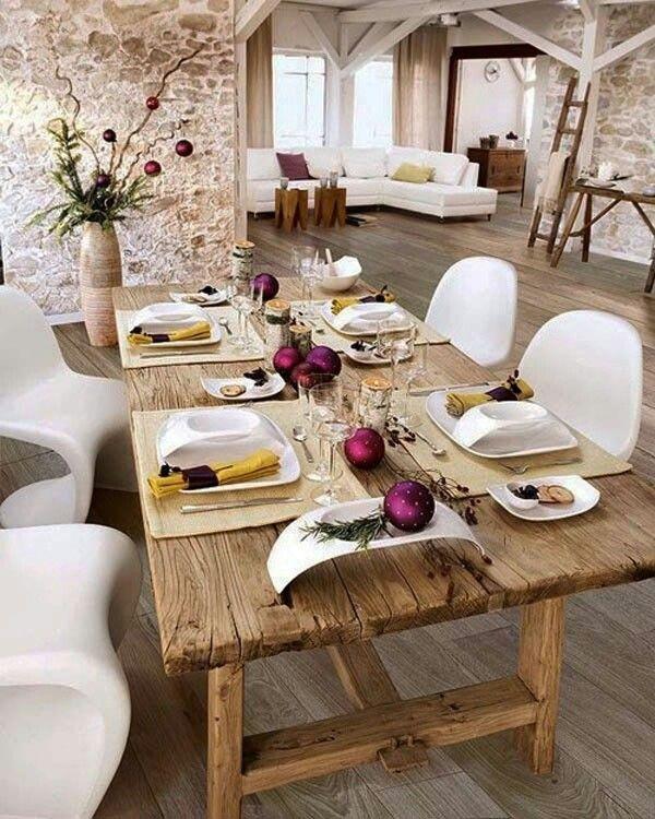Salones Con Parquet Www Decorgreen Es Different For Chrismas Deco Table Noel Decoration Table De Noel Decoration Table