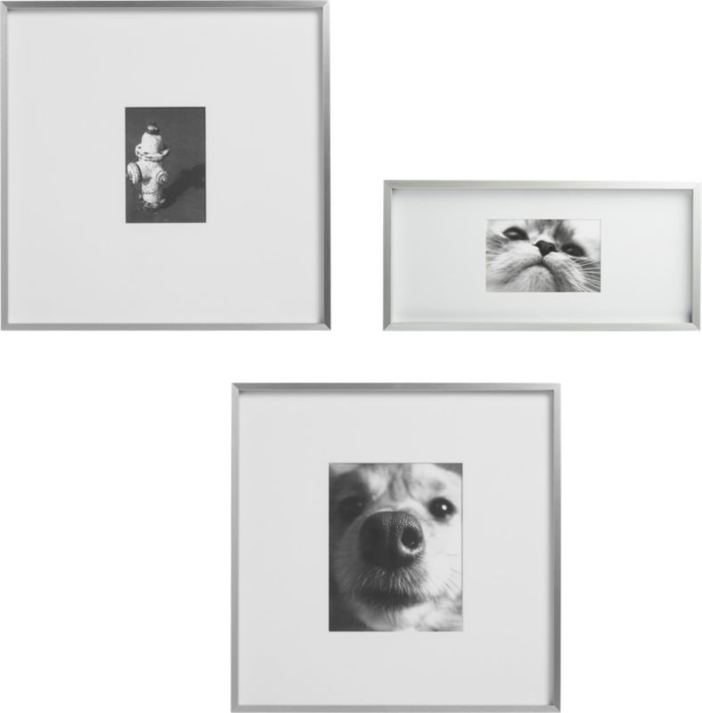 gallery frames | CB2 | Living room | Pinterest
