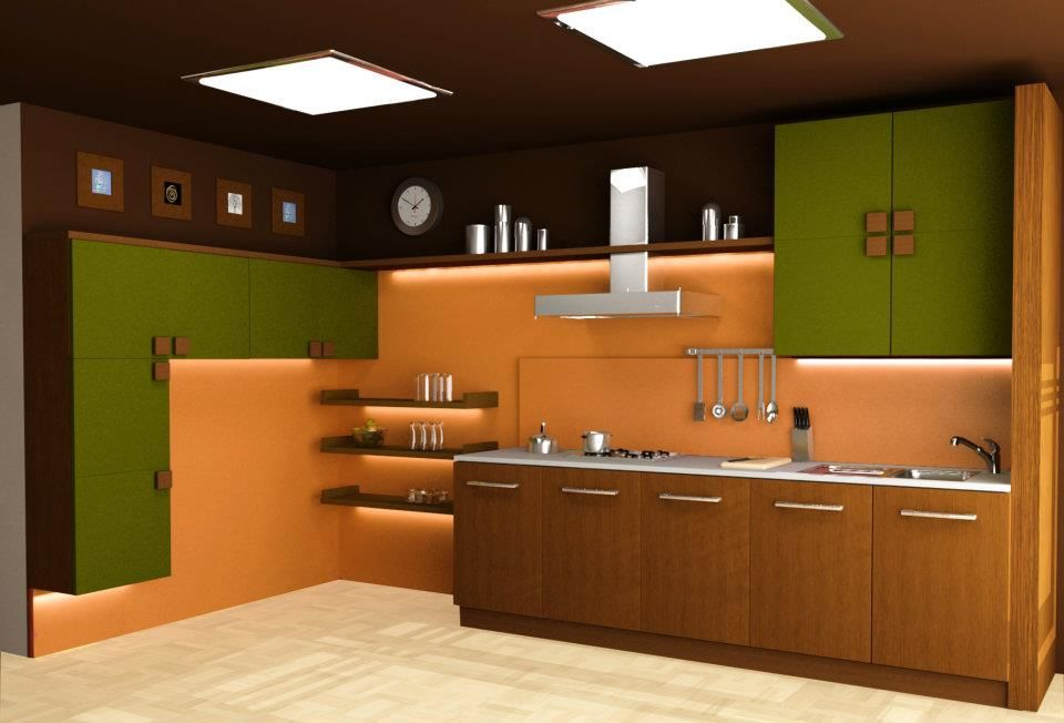 parallel kitchen design india - Google Search | KITCHEN IMAGE ...