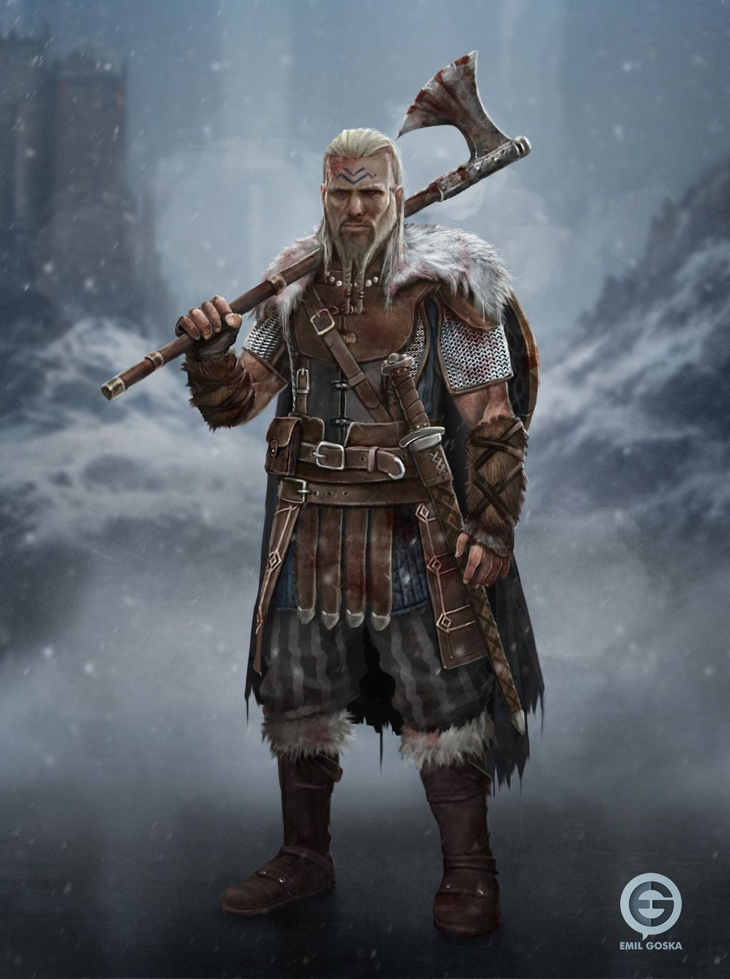 Pin By Wolfeyes On D D Viking Character Fantasy Character