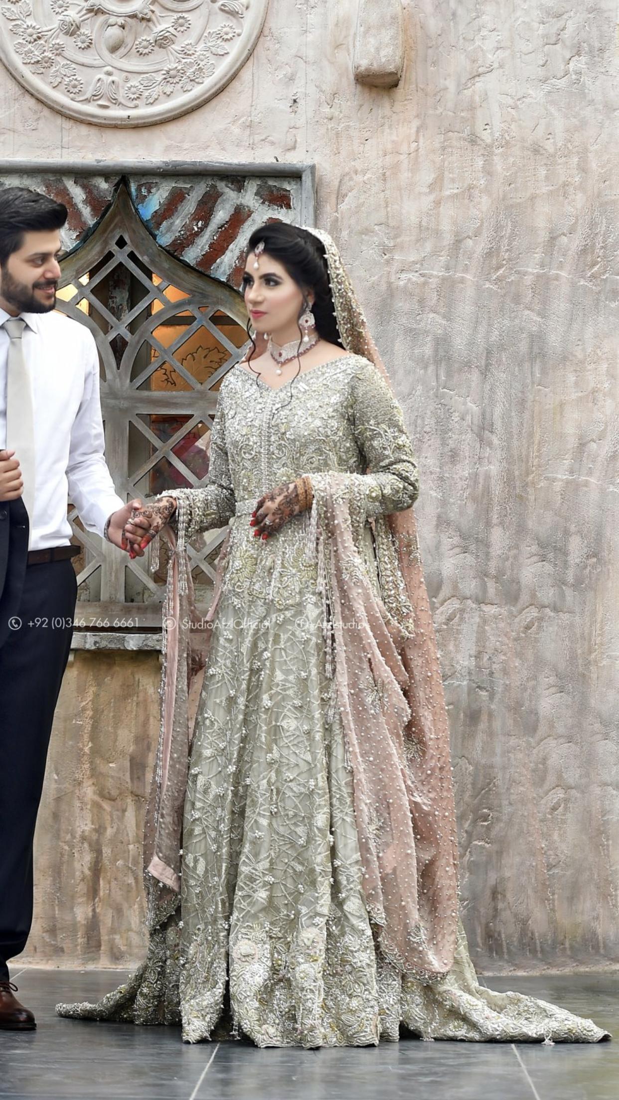 Valima bride  Pakistani Valima bride dress inspo in