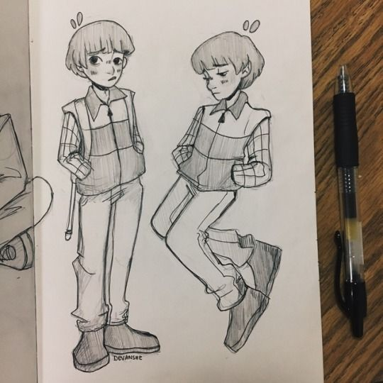 Will byers from stranger things by devanshei
