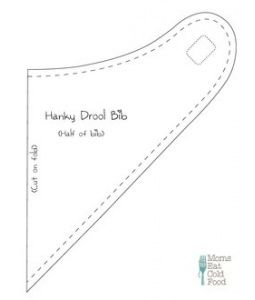 Hanky Drool Bib Pattern With Images
