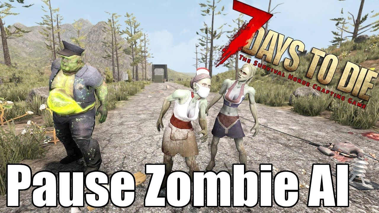 7 Days To Die Debug Mode Pause Zombies Turn Off A I 7