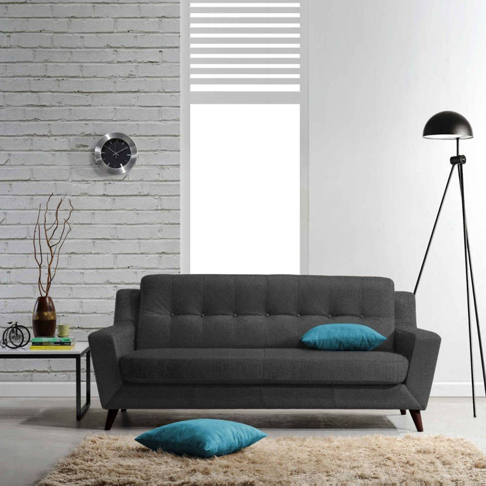Get The Boston Sofa With Its Exquisitely Tailored Biscuit Tufted Back Rest