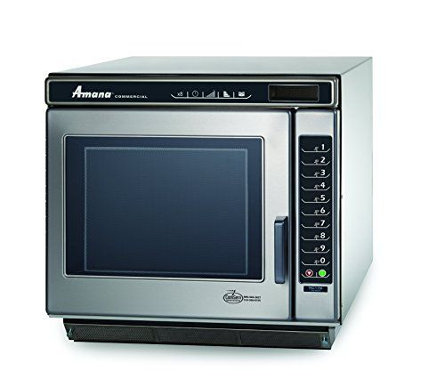 Amana Commercial Rc30s2 Rc Chef Line Microwave Oven 3000w Stainless Steel