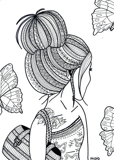 Free Printable Coloring Pages For Teens Italien Forum Info Throughout Coloring  Pages For Teenagers, Doodle Art Designs, Coloring Pages For Girls