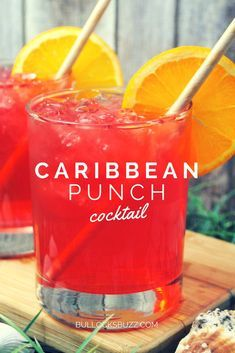 Caribbean Punch Recipe #drinks