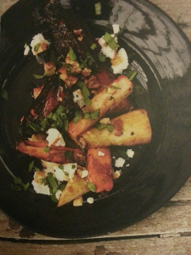Warm Winter Vegetable Salad.