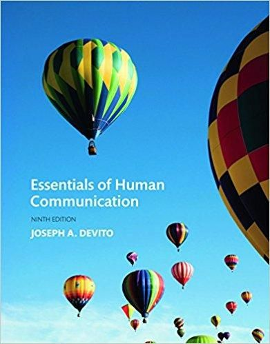 Essentials of human communication 9th edition by joseph a devito essentials of human communication 9th edition by joseph a devito author isbn 13 978 0134184951 fandeluxe Choice Image