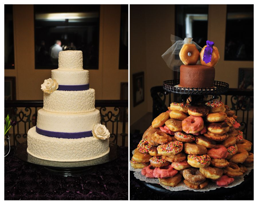 Debbie Schwab Sweet Treasures Cake (donuts from donut shop)