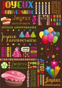 Joyeux Anniversaire Patchwork Creole Phrase Quotes Birthday