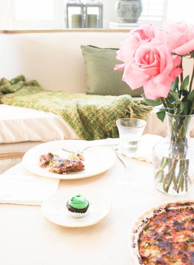 Romantic St. Patrick\'s Day Dinner For Two Ideas | Nature decor ...