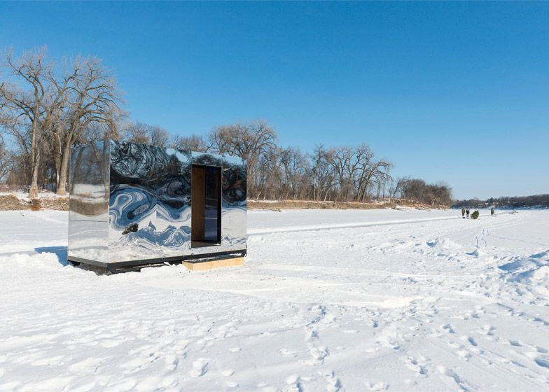 Warming Huts offer shelter on a frozen Winnipeg river. | Off the ...