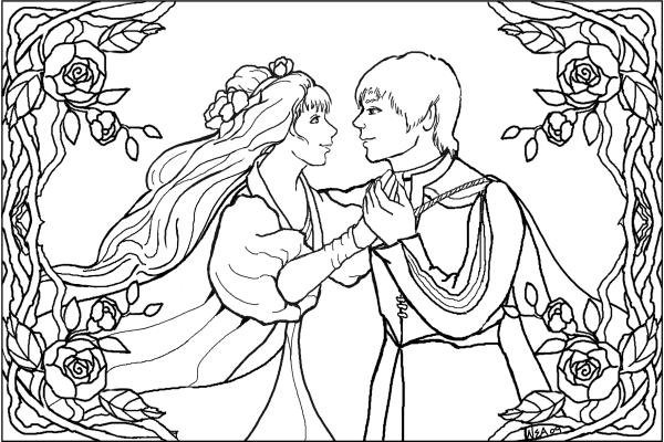 A Midsummer Night's Dream website w/synopsis and coloring