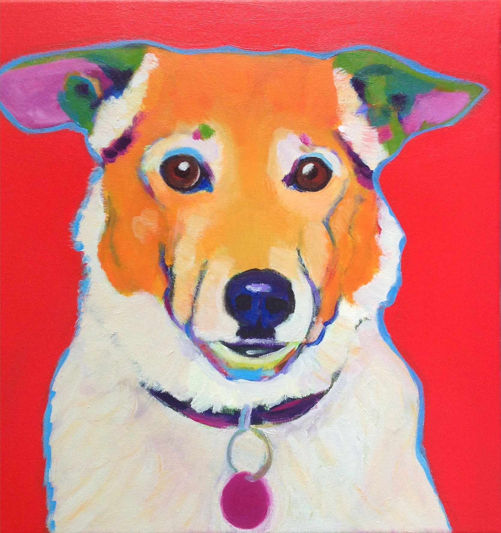 """'Jack' by the """"pupartist"""" marion evamy"""