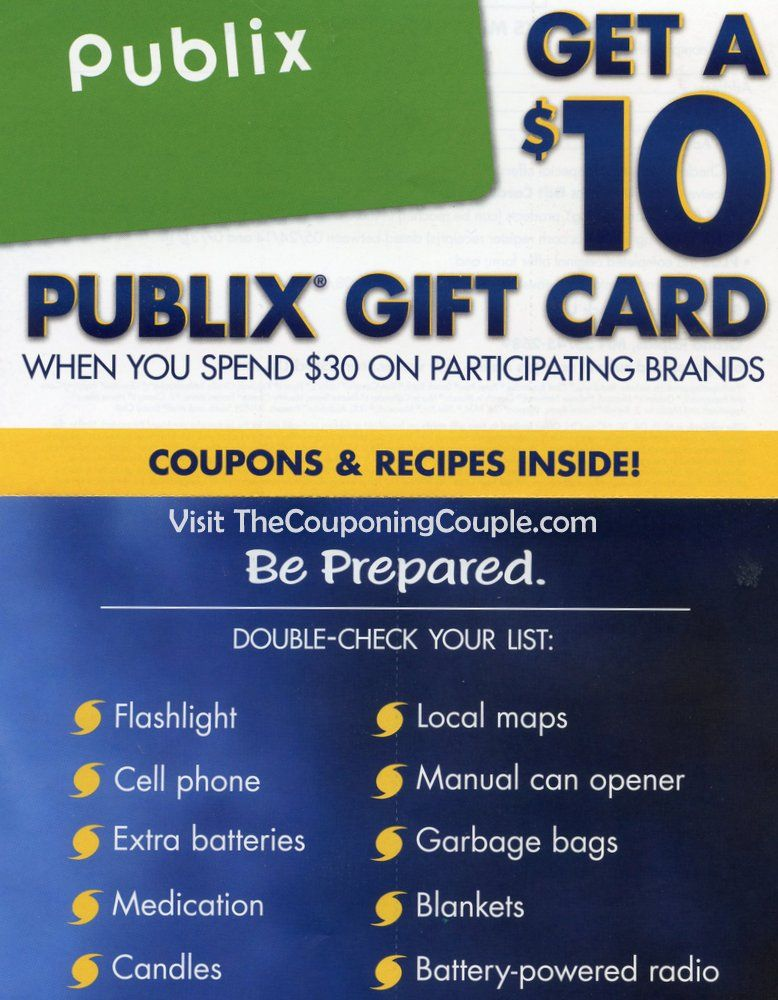 Stock Up For Summer Storms Publix Coupons In Store Flyer Publix Coupons Store Flyers Coupons
