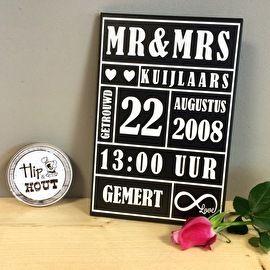cadeautjes voor trouwdag