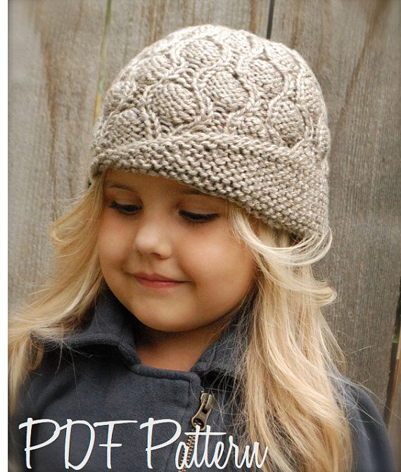 Knitting Patternthe Harmony Cloche Toddler By Thevelvetacorn