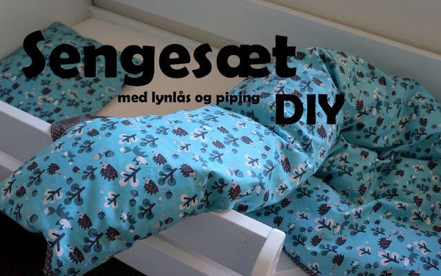 Made by CATESA: Junioursengesæt med lynlås og pipingbånd DIY