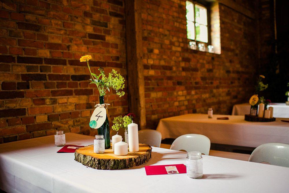 Hochzeit DIY  Centerpieces  Tischdeko gnstig