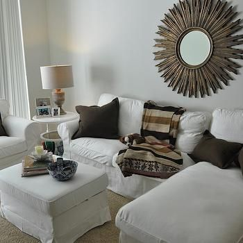 gold sunburst mirror living room pinterest gold sunburst rh pinterest com Small Living Room Ideas Ashley Furniture Living Room