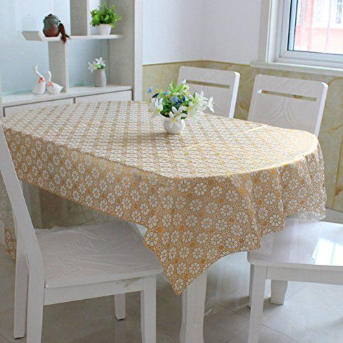 Fabric Waterproof And Oil Resistant Table Mat European Pastoral