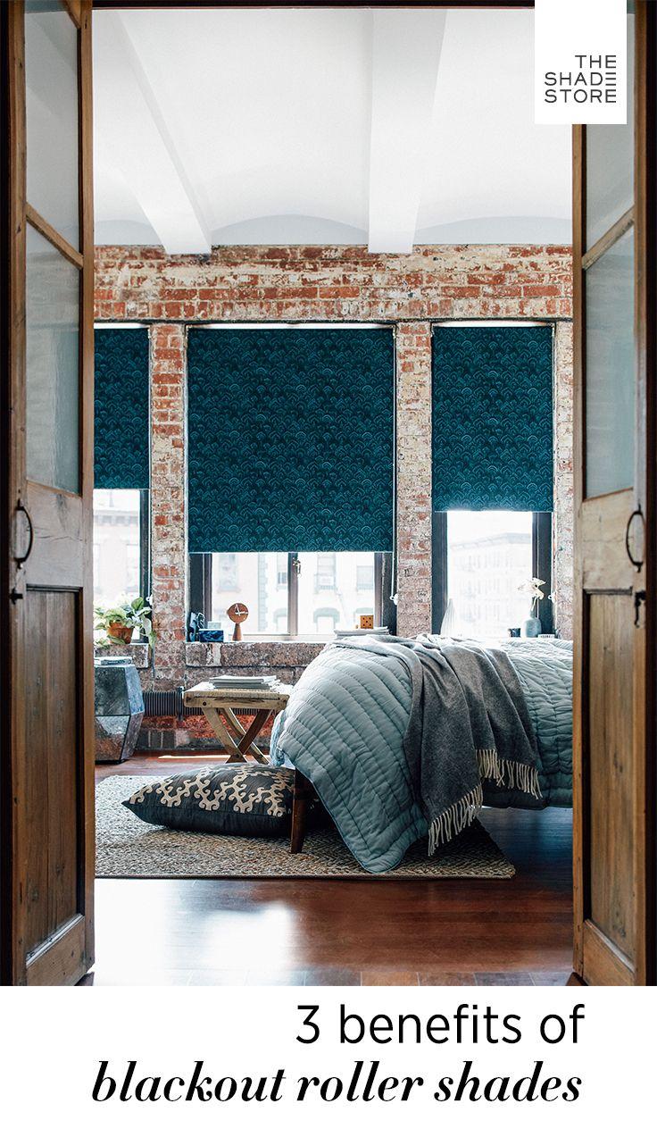 3 window bedroom ideas  benefits of blackout roller shades  rollers benefits of and roller