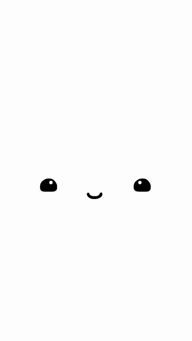 Free Kawaii Face Wallpaper Kawaii Faces Cute Wallpapers For Ipad Iphone Wallpaper