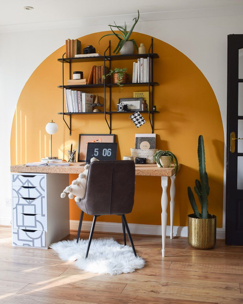 Photo of New painted arch trend is latest decorating idea making a BIG impression