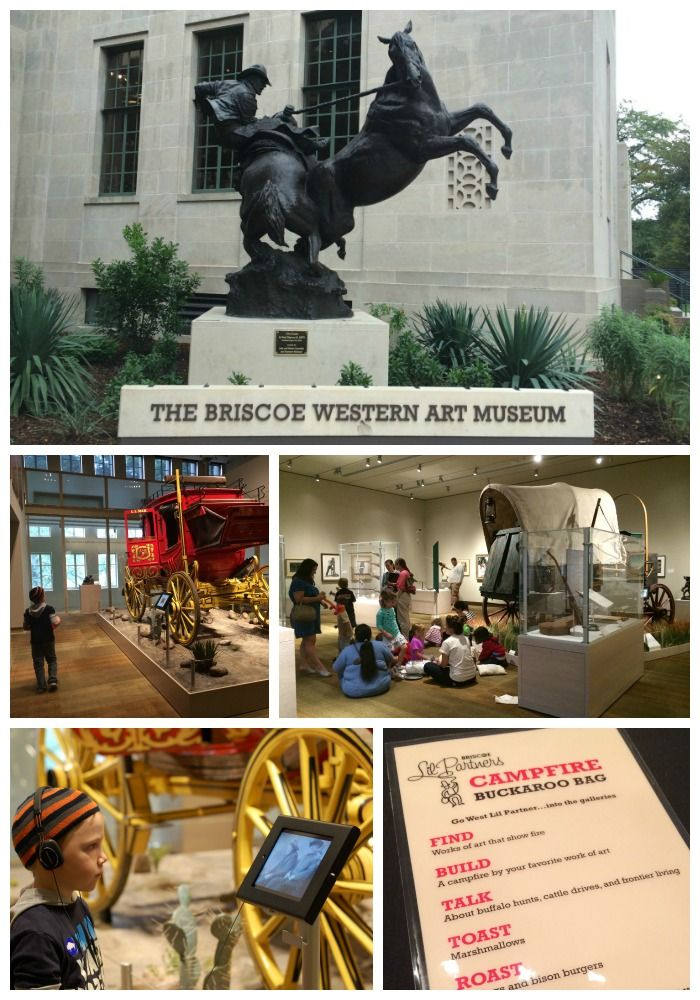 The Briscoe Western Art Museum's programs for kids in San Antonio, Texas