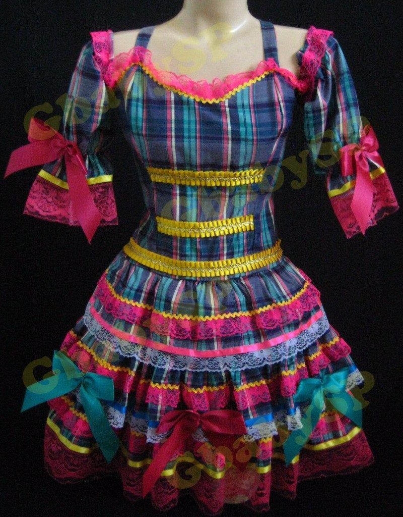 Vestidos para a festa junina