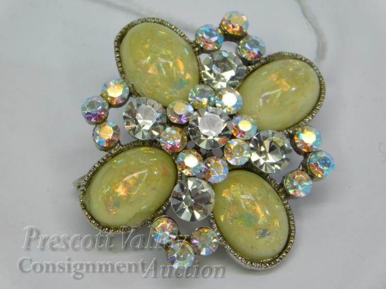 Vintage Cara Rhinestone Costume Jewelry
