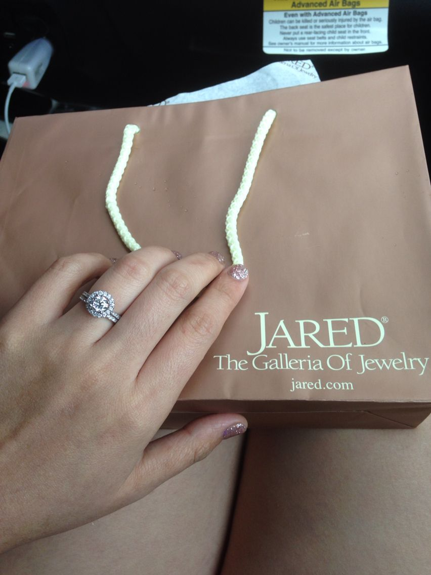I love my ring! Thank you baby