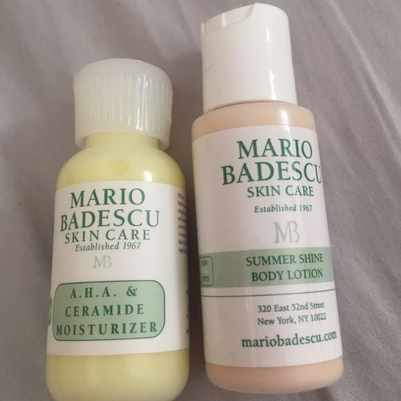 Nwot Mario Badescu Moisturizer And Body Lotion Mario Badescu Moisturizer Body Lotion Moisturizer