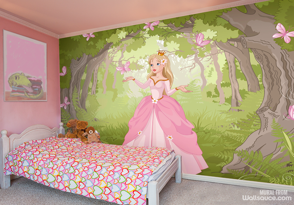 Fairy tale woods bedroom