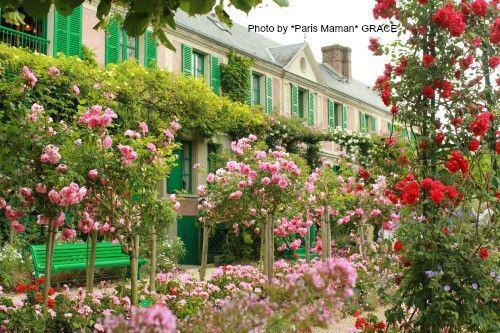 モネを訪ねて♡ ジヴェルニー 〜①美しい花園〜 フランス 〜子供と暮らすパリ便り〜