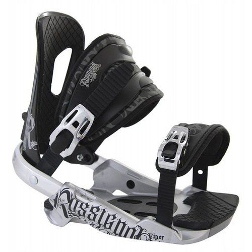 Rossignol Viper Snowboard Bindings    Base Plate - HC-X   Hi-Back - I-Back Light   Straps - 3D EVA   Extra - Puffy Pads