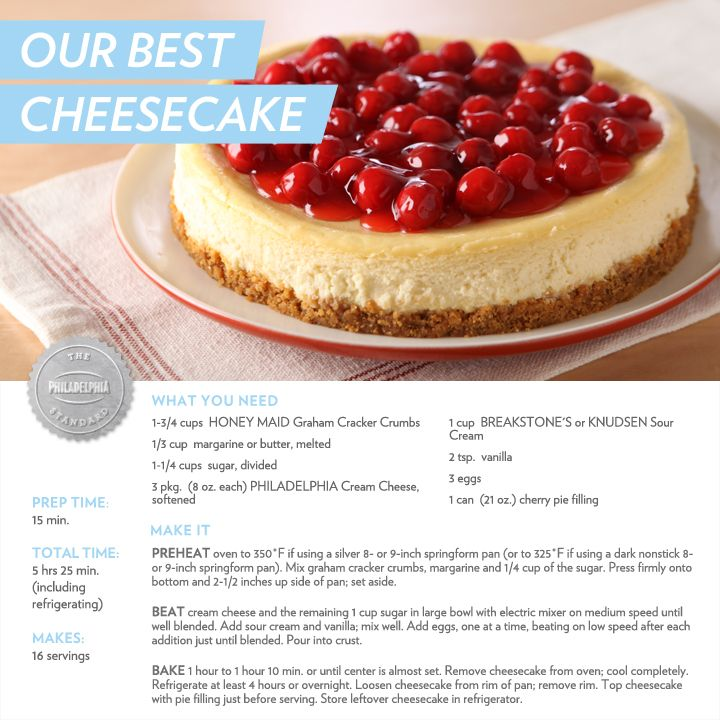 Our Best Cheesecake Recipe Cheesecake Recipes Best Cheesecake Cheesecake Recipes Classic
