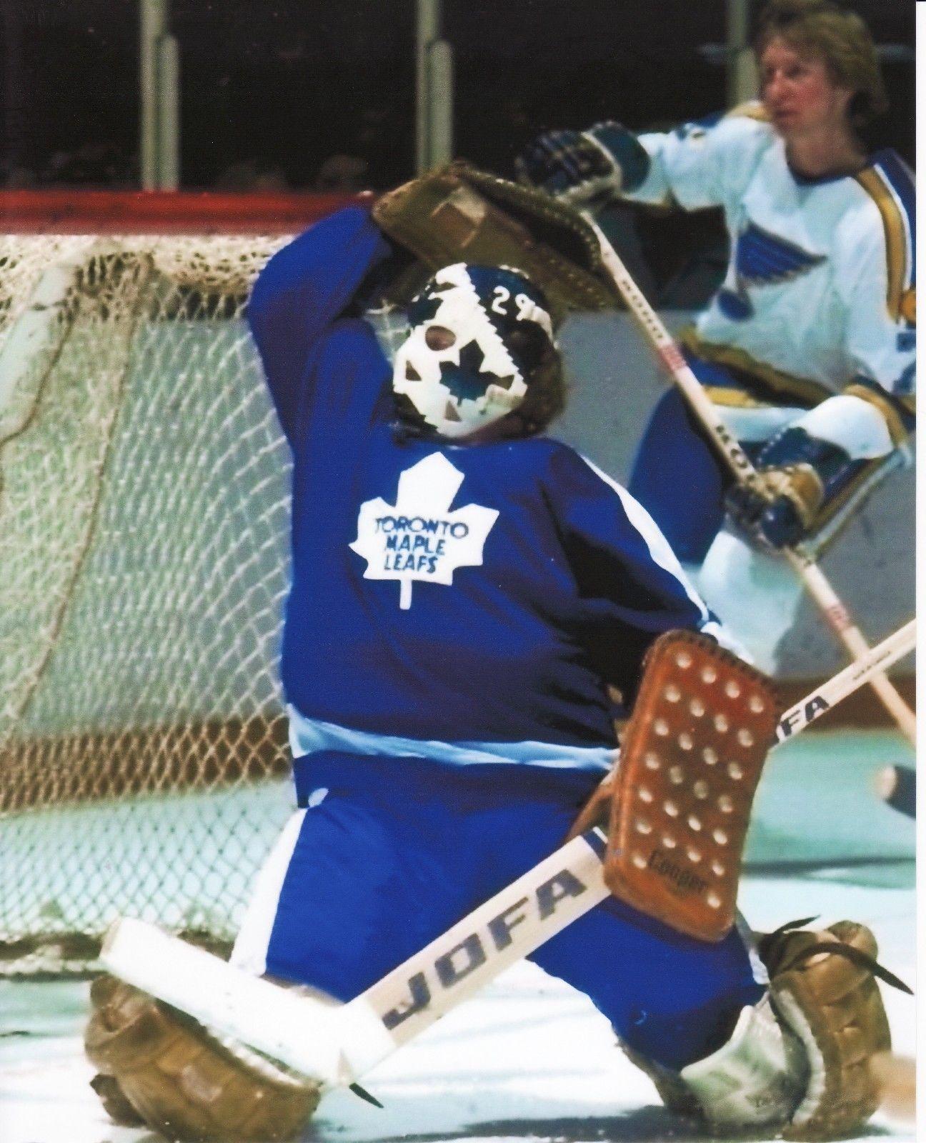 huge discount ec7be c4df5 Mike palmateer toronto maple leafs vintage goalie mask nhl ...