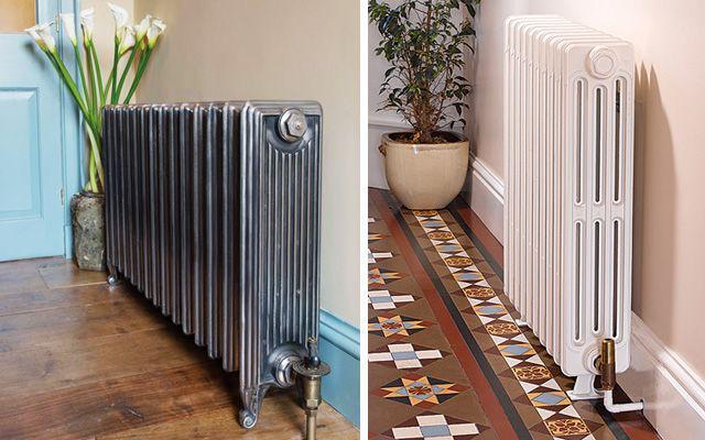 Ideas para decorar con radiadores antiguos de hierro - Decorar radiadores ...