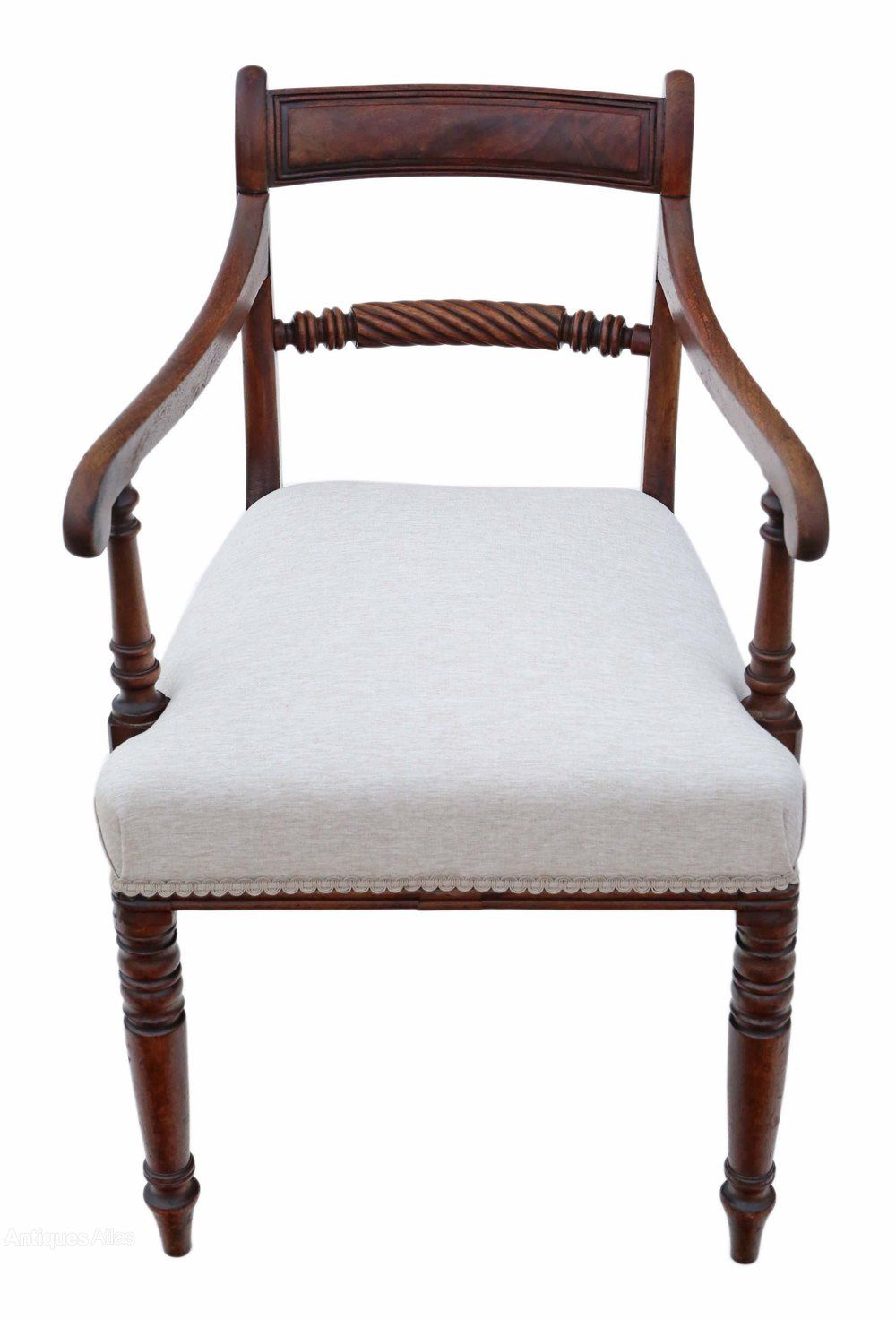 Brilliant Georgian C1810 Mahogany Office Elbow Desk Chair In 2019 Machost Co Dining Chair Design Ideas Machostcouk