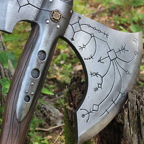 Kratos Axe S Kratos Hacha Axes Battle Axe Medieval
