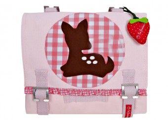 Kindergartentasche 'Kitz' mit Filzapplikation von la fraise rouge