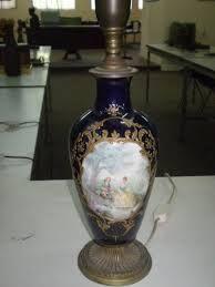 Resultado de imagen para lamparas antiguas de porcelana