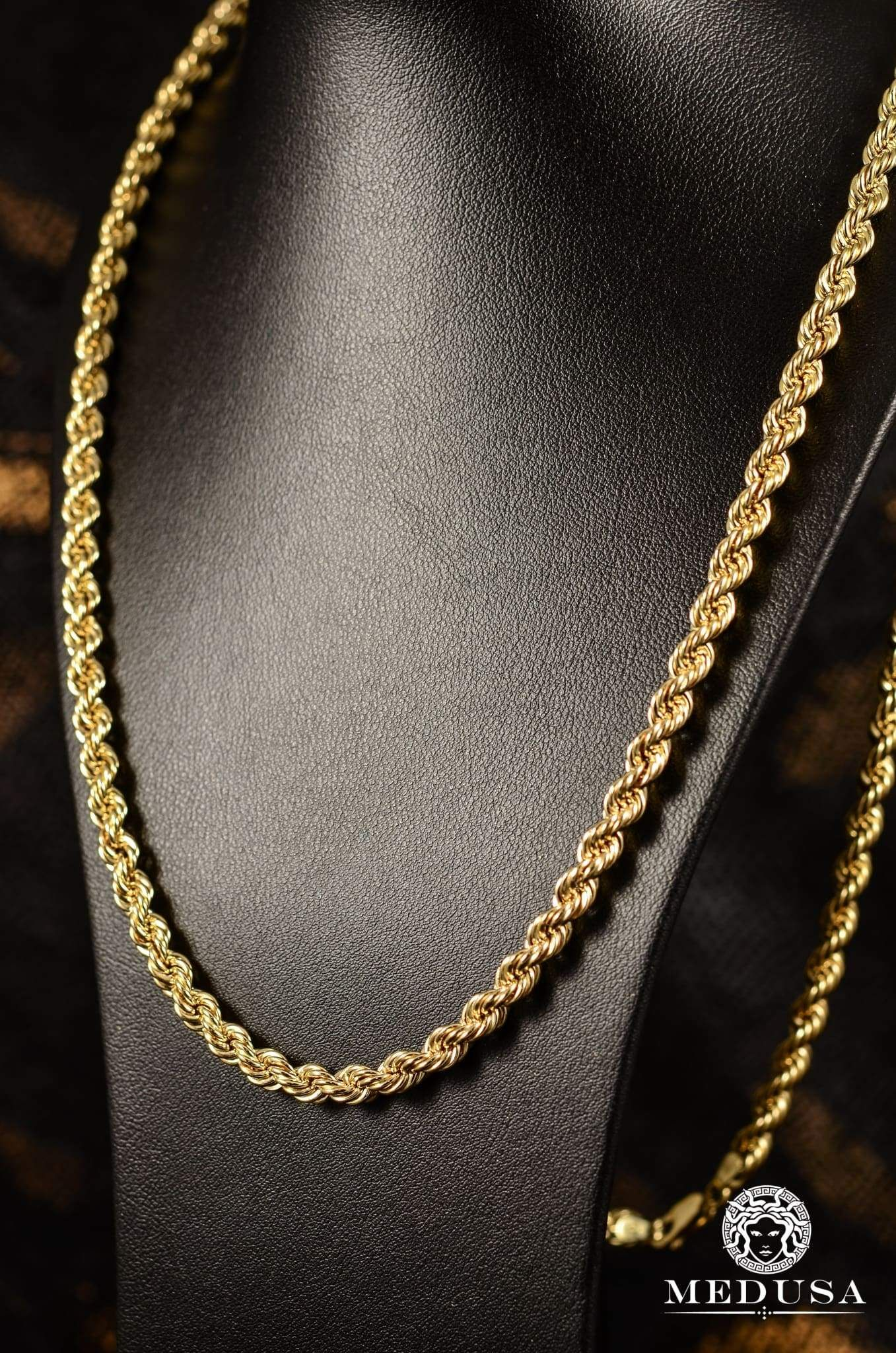 5mm Torsade Gold Chains For Men Gold Chain Jewelry Chains Jewelry