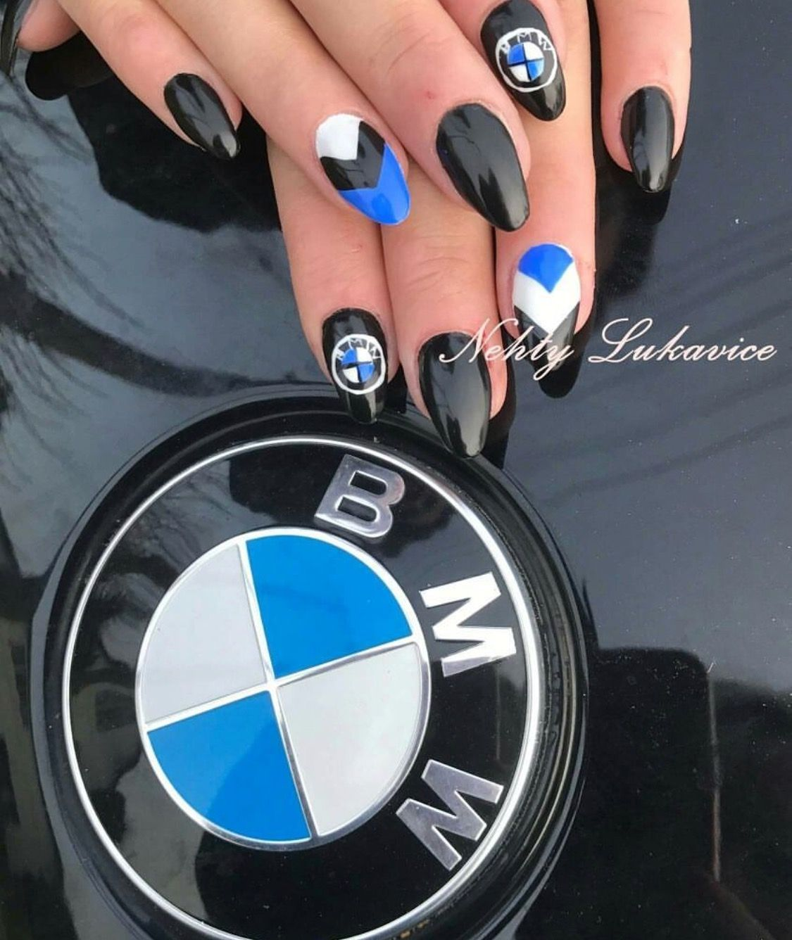 BMW Love ❤️ | Because cars in 24 | Gel nails, Nail ...
