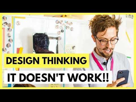 Why Do Design Thinking Projects Fail Innovation Advice By Aj Smart Youtube 2020