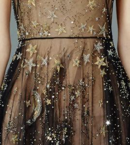 chandelyer: planets, moon and stars at Valentino... - heidi welsh